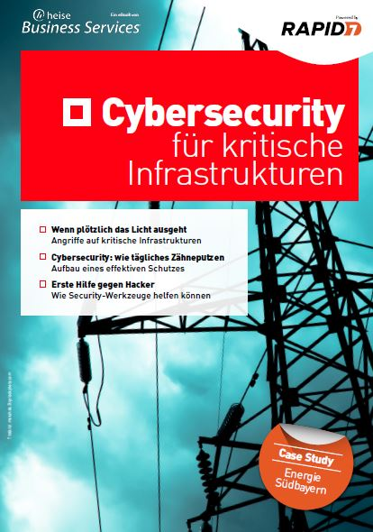 Cybersecurity for Critical Infrastructures (German Language)