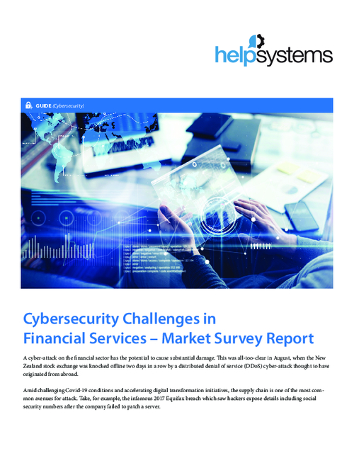FS Market Survey Report: Addressing People, Processes, and Technology