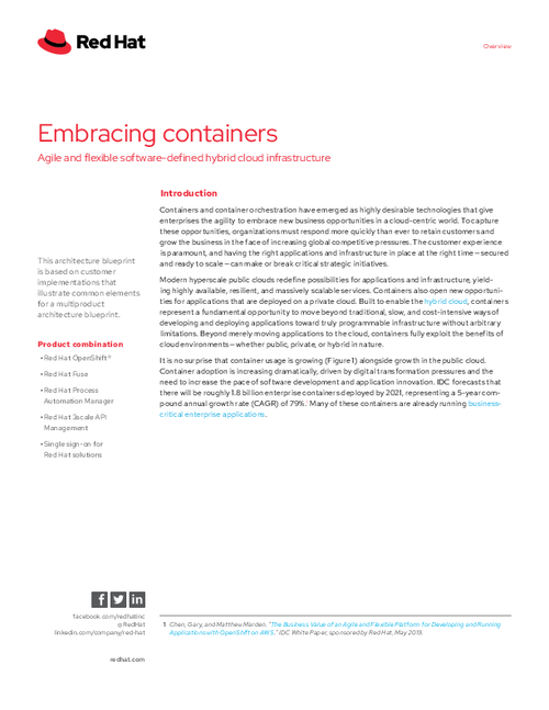 Embracing Containers