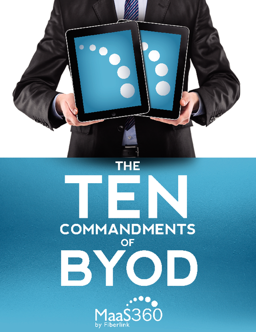 The 10 Commandments of BYOD