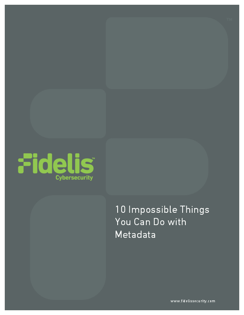 10 Impossible Things You Can Do with Metadata