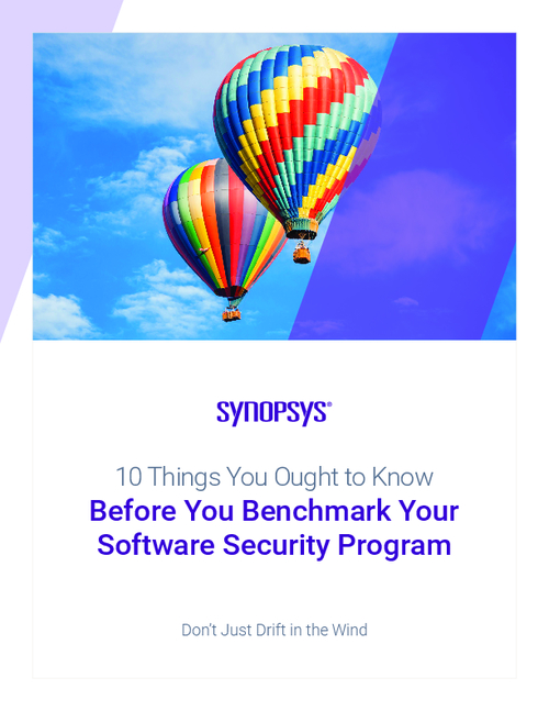 10 Things You Ought to Know Before You Benchmark Your Software Security Program