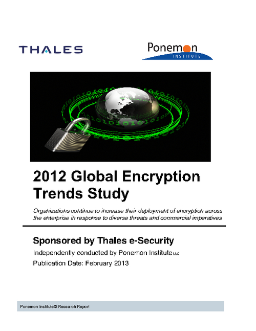 2012 Global Encryption Trends Report
