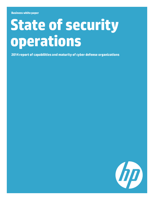 2014 Report: State of Security Operations
