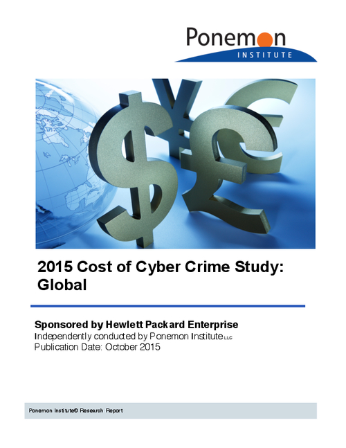 2015 Cost of Cyber Crime Study: Global