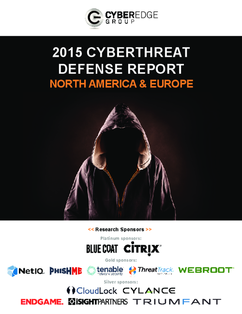 2015 Cyberthreat Defense Report