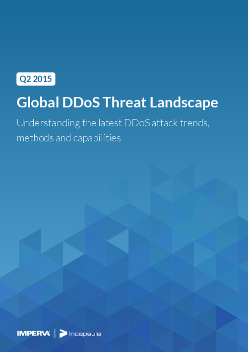 2015 Global DDoS Threat Landscape Report