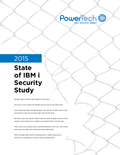 2015 State of IBM i Security Study