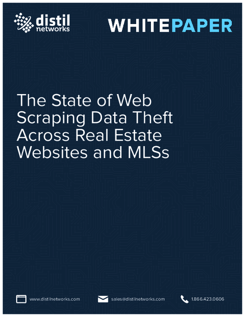 2015 Study: State of Web Scraping Data Theft Across Real Estate Websites & MLS Data