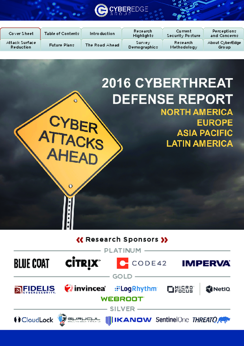 2016 Cyberthreat Defense Report