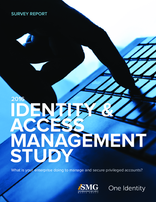 2016 Identity & Access Management Study