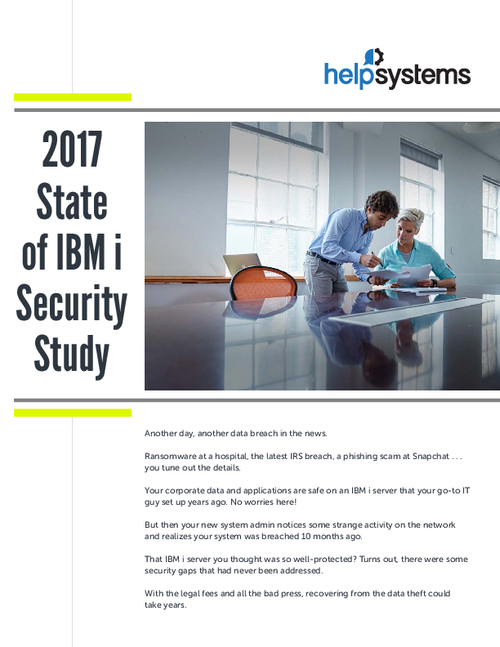 2017 State of IBM i Security Study