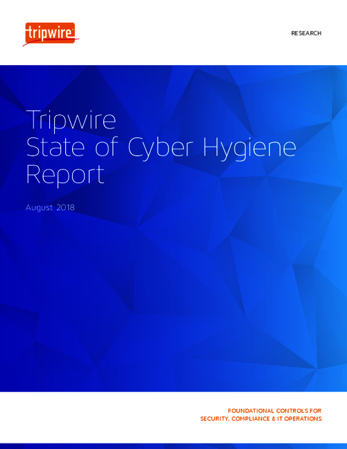 2018 State of Cyber Hygiene Report