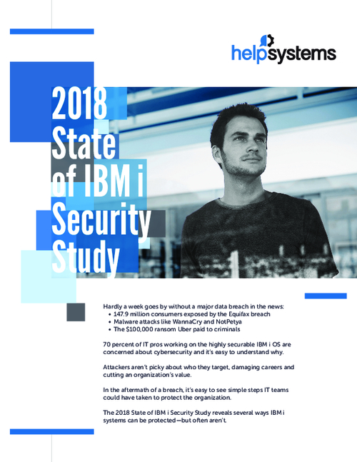 2018 State of IBM i Security Study