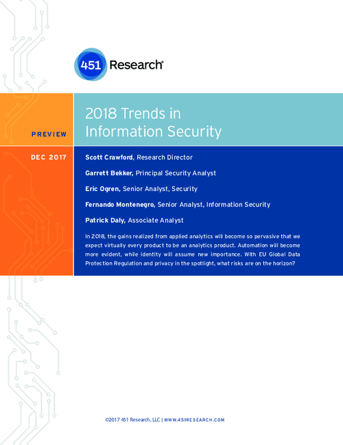 2018 Trends in Information Security
