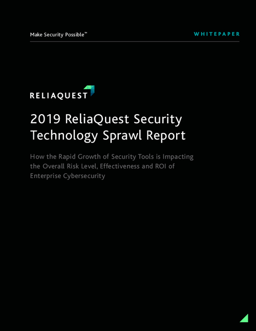 2019 ReliaQuest Security Technology Sprawl Report