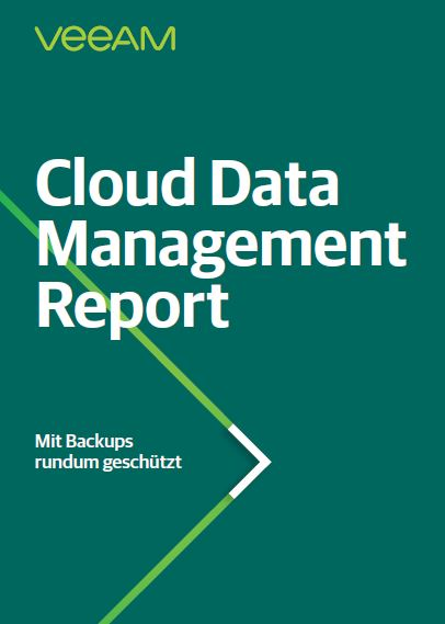 2019 Veeam Cloud Data Management Report (German Language)