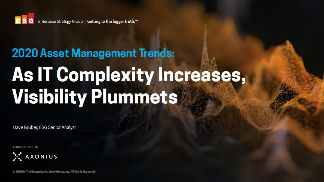 2020 Asset Management Trends: As IT Complexity Increases, Visibility Plummets