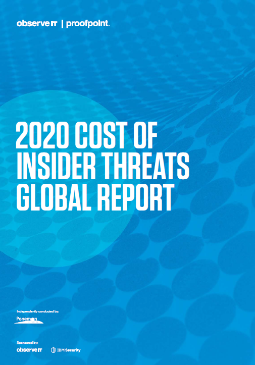 2020 Cost of Insider Threats: Global Report