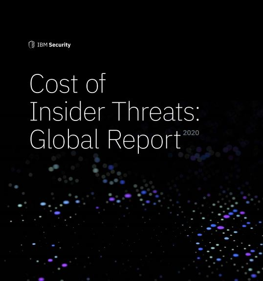 2020 Ponemon Cost of Insider Threats Global Report