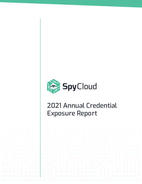 2021 Annual Credential Exposure Report