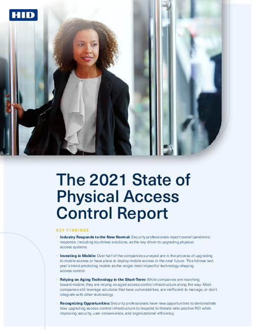 2021 State of Physical Access Control Report