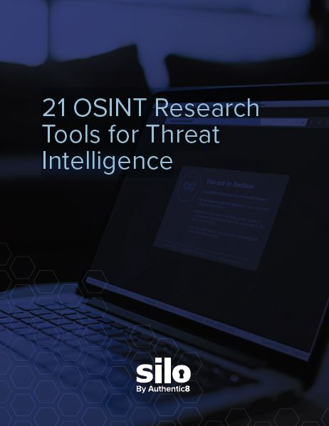 21 OSINT Research Tools for Threat Intelligence