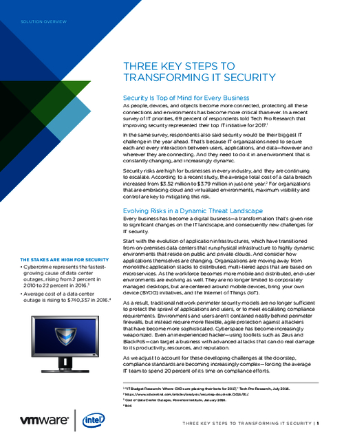 Three Essential Steps That Will Transform Your IT Security
