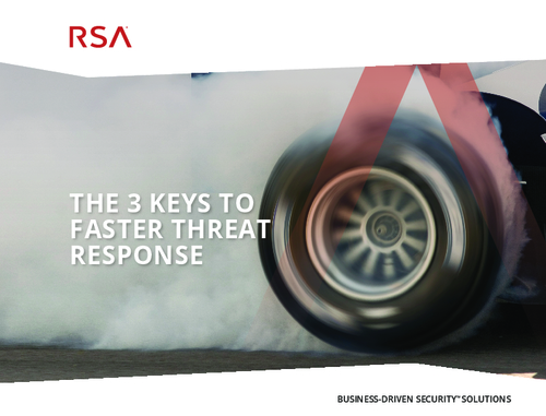 3 Keys to Faster Threat Response