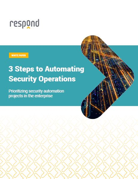 3 Steps to Automating Security Operations