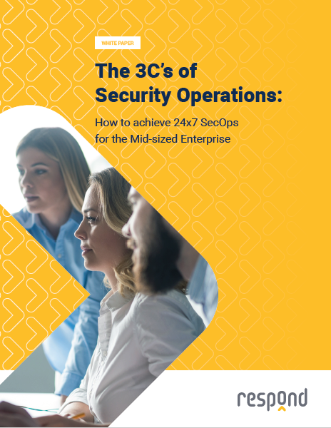 The 3C's of Security Operations: How to Achieve 24x7 SecOps for the Mid-sized Enterprise