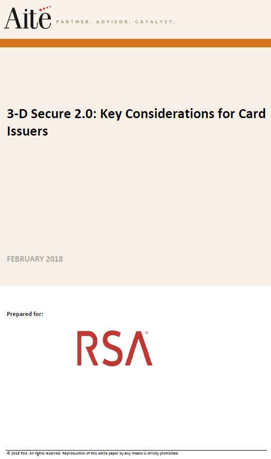 3D Secure 2.0: Key Considerations for Card Issuers