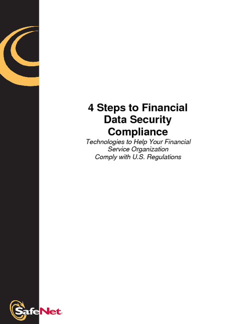 4 Steps to Financial Data Security Compliance