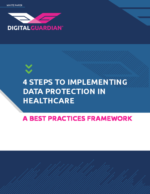 4 Steps to Implementing Data Protection in Healthcare