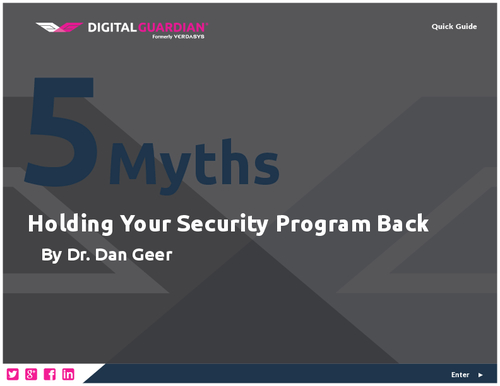 5 Myths Holding Your Security Program Back