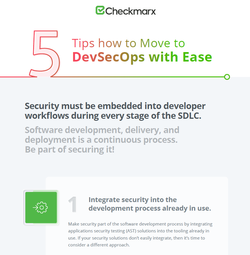 5 Practical Tips to Move to DevSecOps with Ease