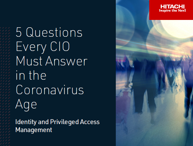5 Questions Every CIO Must Answer in the Coronavirus Age