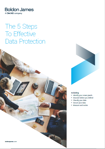 The 5 Steps To Effective Data Protection