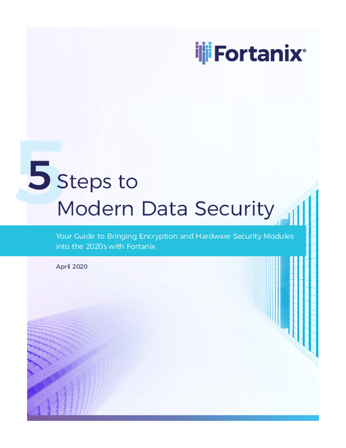 5 Steps to Modern Data Security