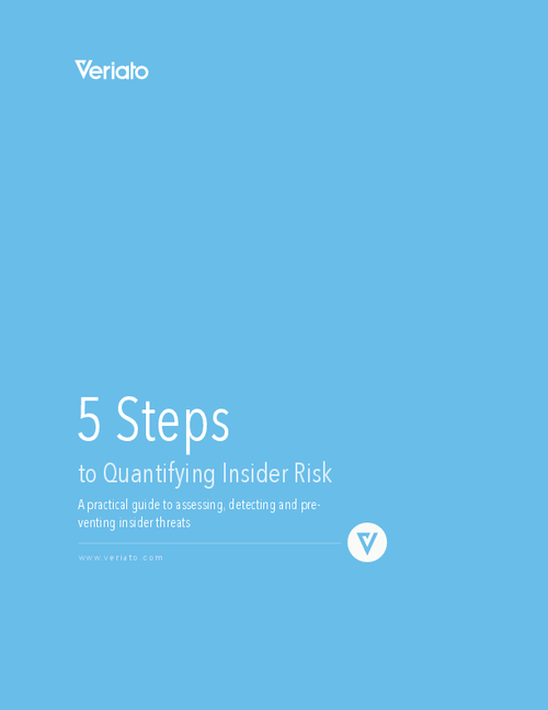 5 Steps to Quantifying Insider Risk