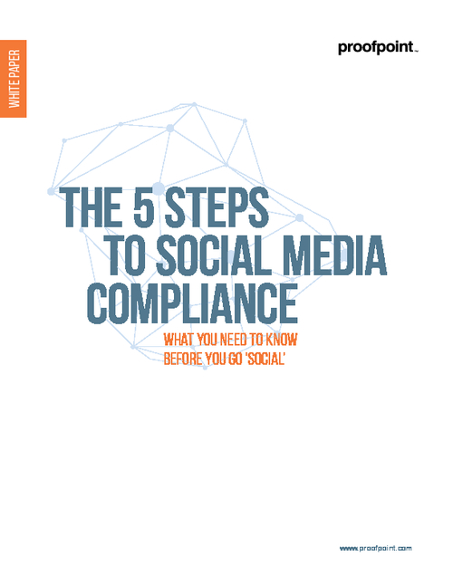 5 Steps to Social Media Compliance