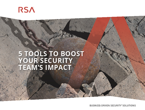 5 Tools to Boost Your Security Team's Impact