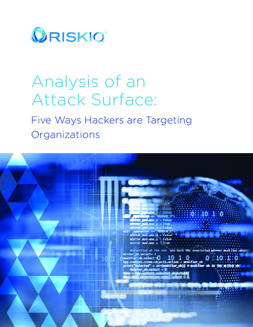 5 Ways Hackers are Targeting Organizations: Analysis of an Attack Surface