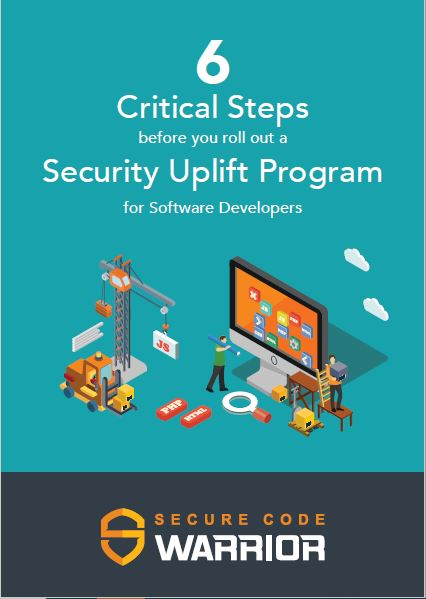 6 critical steps before you roll out a security uplift program for software developers