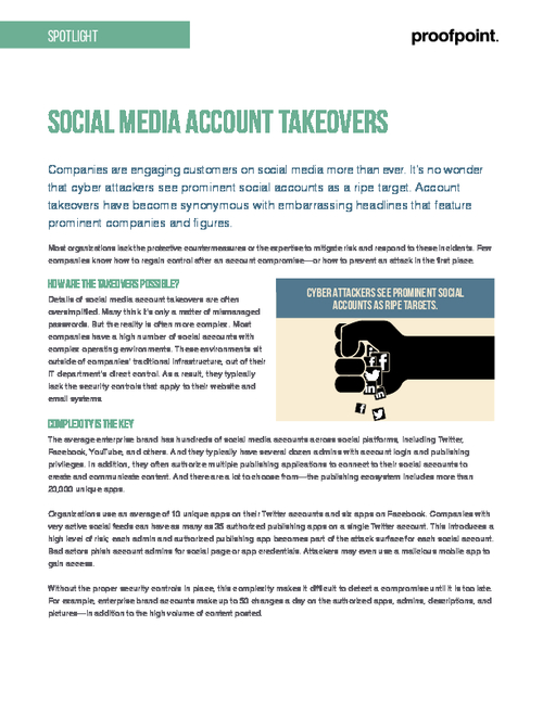 7 Steps to Reduce Social Account Takeover Risk