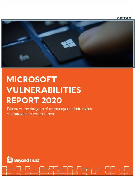 7th Annual Microsoft Vulnerabilities Report for 2020