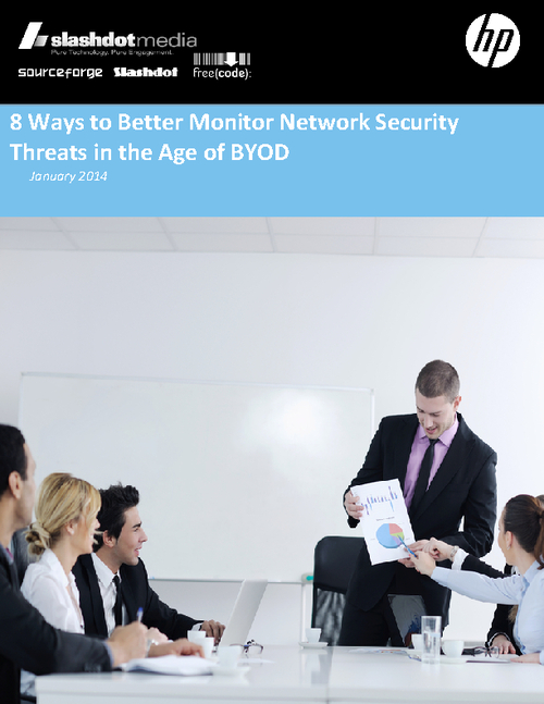 8 Ways to Better Monitor Network Security Threats in the Age of BYOD