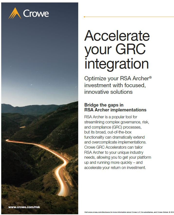 Accelerate Your GRC Integration