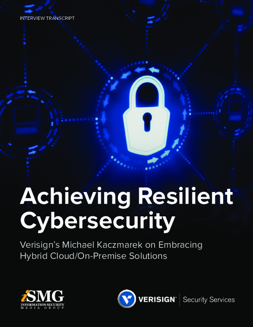 Achieving Resilient Cybersecurity