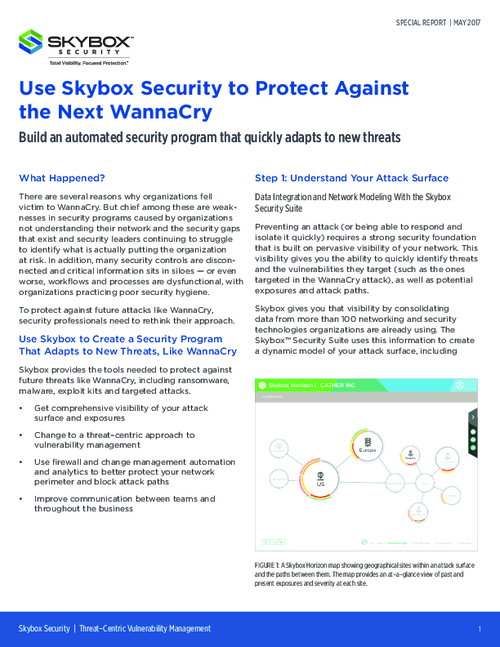Adapt to New Threats Quickly with an Automated Security Program
